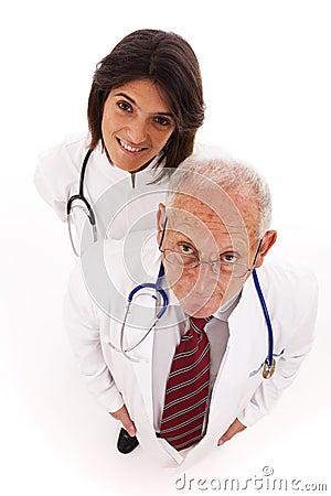 Friendly team doctors