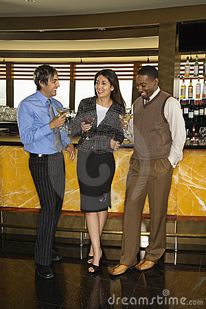 Free Friends At Bar. Royalty Free Stock Photo - 4244405