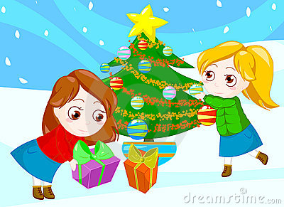 Friends at Christmas