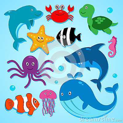 Free Friends From The Sea! Royalty Free Stock Photos - 36357238