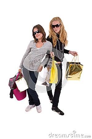 Friends gone shopping