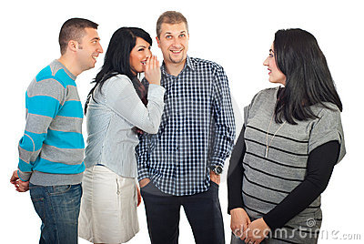 Friends gossip