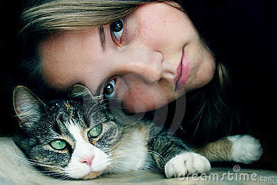 Friendship with cat