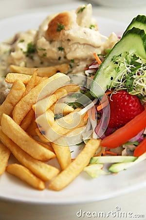 Fries dish