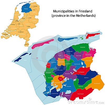 Friesland - province of the Netherlands