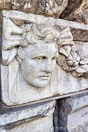 Frieze In Aphrodisias Royalty Free Stock Photography - Image: 22932897