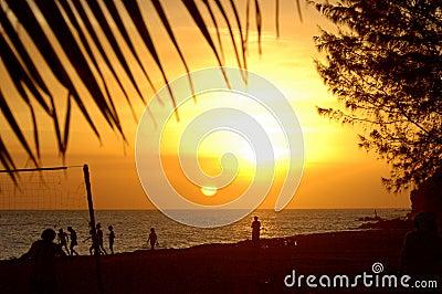 Frigate bay sunset 2