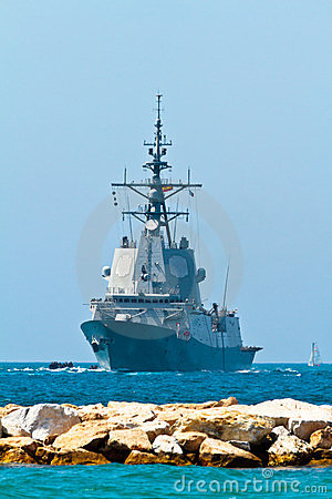 Frigate F-101 Alvaro de Bazan Editorial Photo