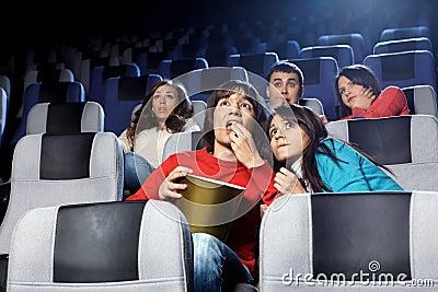Frightening cinema