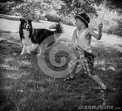 Frisbee with the Dog