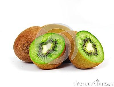 Frische Stückkiwifrucht