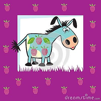 Friuty donkey