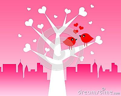 Förälskelsefåglar
