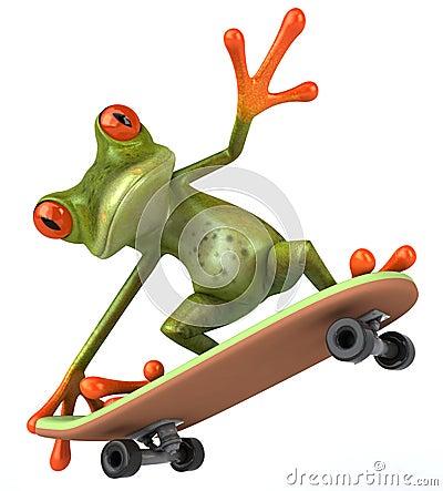 Free Frog Stock Image - 9317561