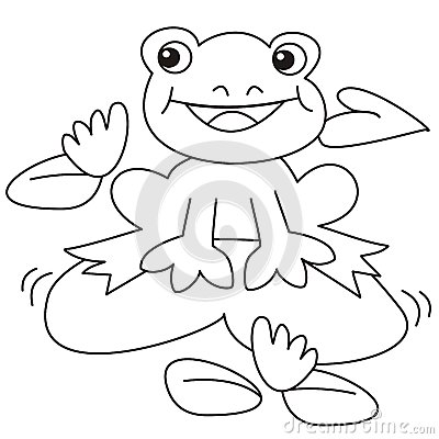 Frog-coloring