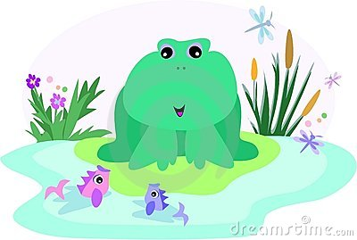 Frog in a Fish Pond