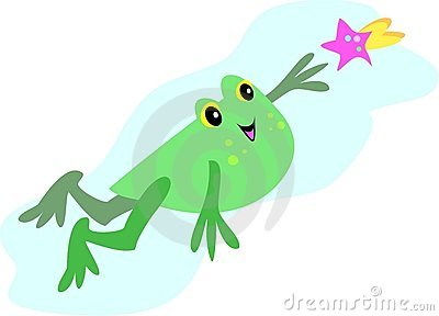 Frog Jumps for a Star