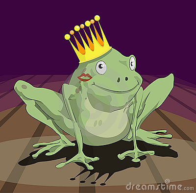 Free Frog Prince Royalty Free Stock Photography - 668717