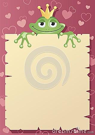 Frog Prince Letter