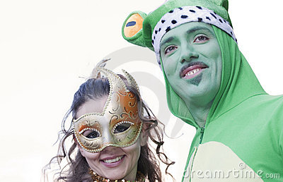 The frog and princess Editorial Stock Photo