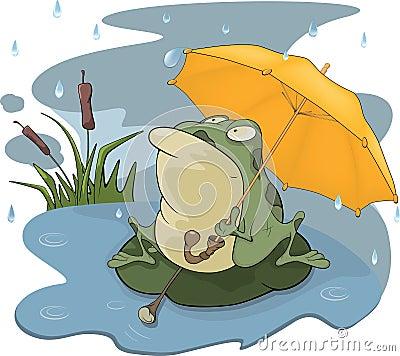 Cartoon Rain