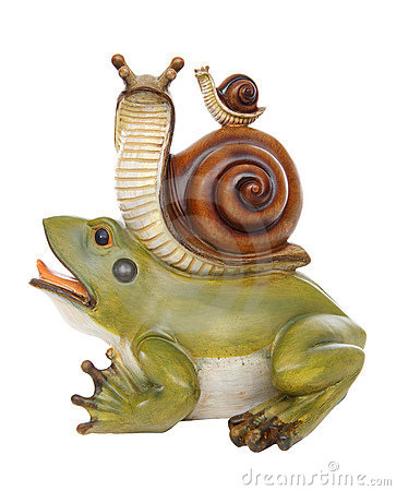 A frog and Snail Friendship