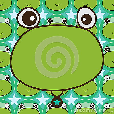 Free Frog Template Symmetry Seamless Pattern Royalty Free Stock Photos - 68388498