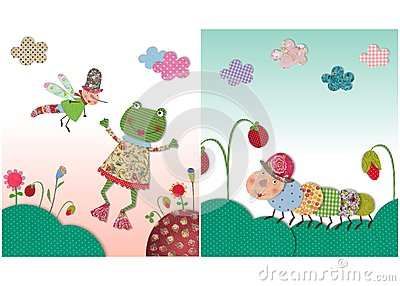 Frog and worm