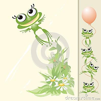 Free Froggy Flight Stock Photo - 10170450