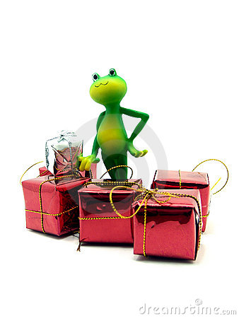 Froggy and the X-mas gifts