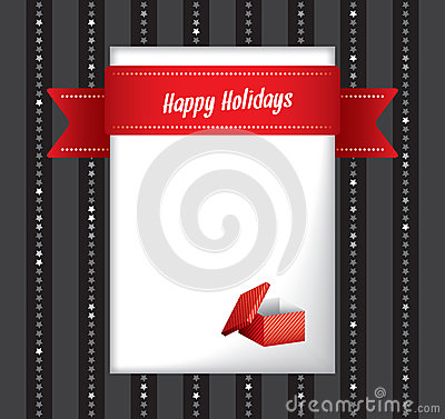 Frohe Feiertage Grußkarte