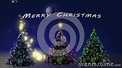 Bilder Weihnachten Animiert.Frohe Weihnachten Mit Baumanimation
