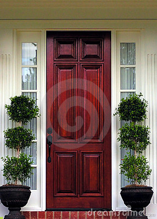 Free Front Door Stock Image - 120411