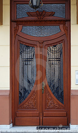 Free Front Door Royalty Free Stock Photo - 13440965