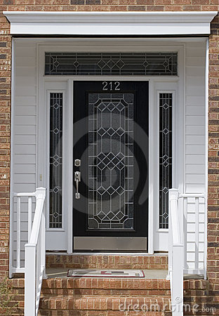 Free Front Door Royalty Free Stock Photography - 2077117