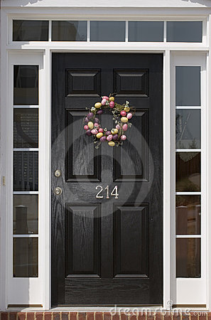 Free Front Door Royalty Free Stock Photo - 2168415