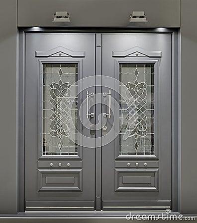 Front door royalty free stock photos image 24935388 - Puertas de madera para entrada principal ...