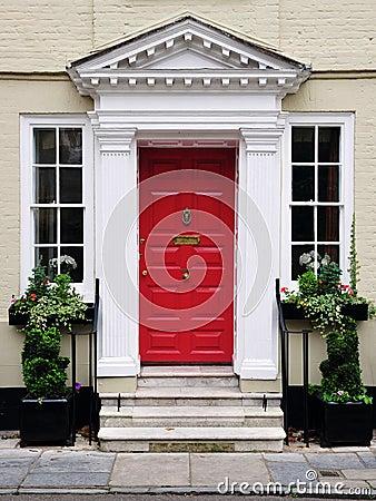 Front Door of a Beautiful House