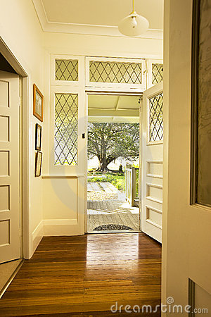 Free Front Door Entrance Interior Stock Photos - 12209983