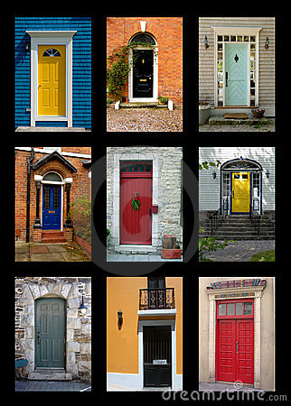 Free Front Doors Royalty Free Stock Photos - 3864738