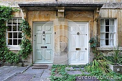 Front Doors of Attractive London Houses