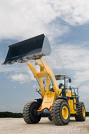 Free Front End Loader Machine Stock Images - 16787074