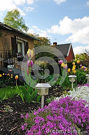 Front house garden