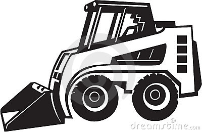 Front Loader Illustration