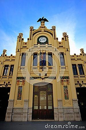 Front modernist building
