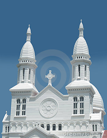 Free Front Of A Catholic Church Stock Image - 15378771