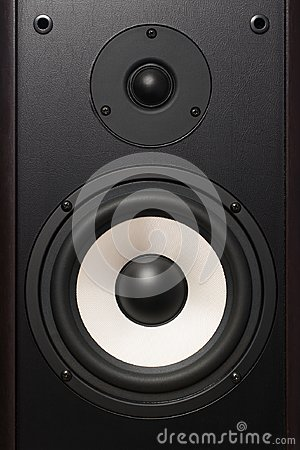 Free Front Of The Audio Speaker, With A White Speaker Royalty Free Stock Photos - 106463778