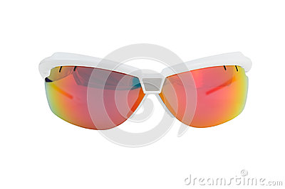 Front sport sunglasses