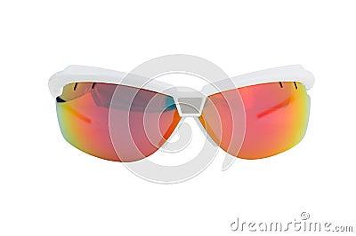 Front sport sunglasses