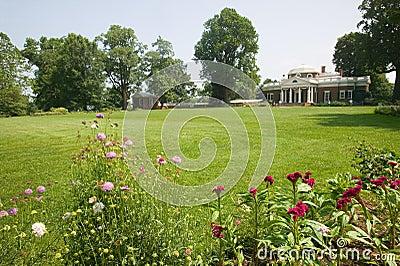 Front of Thomas Jefferson s Monticello